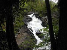 Oxtongue River - Ragged Falls - Ontario Parks, near Dwight, Ontario