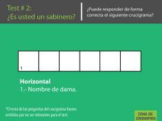 Test #2: ¿Es usted un sabinero?  Resultados: http://zonadecronopios.wordpress.com/2014/03/10/test-sabinero-2/