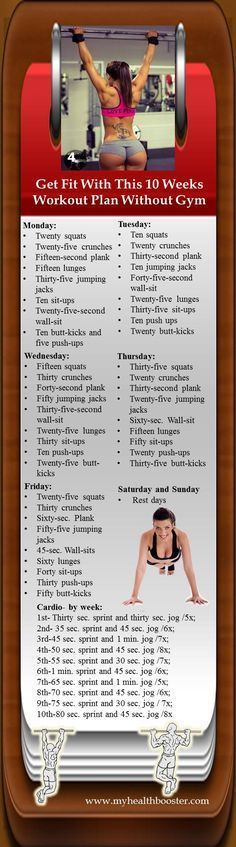 Fitness gym is not always needed when it comes to losing weight. This workout plan is very effective, and there