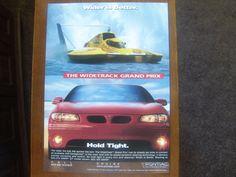 pontiac grand prix vintage magazine ad