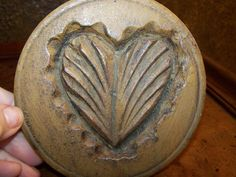 ❤ Pennsylvania Dutch Butter Mold; Circa Early to Mid 1800's ❤