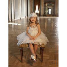 Τούλινο βαπτιστικό φόρεμα Dolce Bambini σε ivory απόχρωση επώνυμο-οικονομικό, Βαπτιστικά ρούχα κορίτσι επώνυμα τιμές-προσφορά, Dolce Bambini βαπτιστικά φορέματα νέες παραλαβές, Φόρεμα βάπτισης τιμές-προσφορά