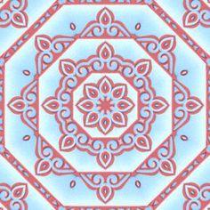 Tea Bag Folding @ CircleOfCrafters.com: December 2008 Free Tiles of the Month