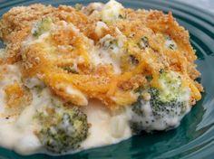 Broccoli & Onion Casserole