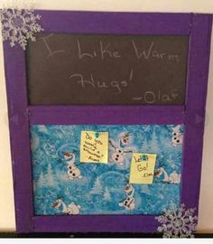 Check out this item in my Etsy shop https://www.etsy.com/listing/266784590/frozen-inspired-memo-and-chalkboard