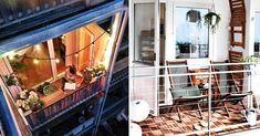 101 Deco & Design Ideas For A Small Balcony - Bathroom 01 Petite Kitchen, Balkon Design, Apartment Balconies, Home Decor Styles, My House, Photo Galleries, Sweet Home, Room Decor, Interior Design