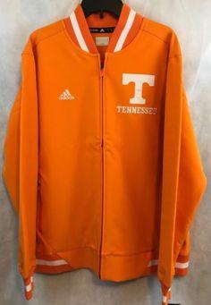 42d25dc18d6d8 University-Of-Tennessee-Volunteers-NCAA-Adidas-Jacket-Large-NWT-Orange-White
