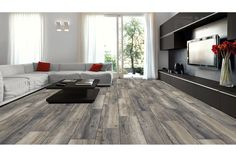 Kronotex Laminate - 8mm Exquisit Collection Harbor Oak Gray