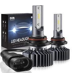 9005/HB3 LED High Beam Headlight Bulbs Conversion Kit, DOT Approved, SEALIGHT S1 Series 9145/H10 Fog Light Bulbs - Xenon White 6000K - NOTES: 1. Please note that S1 series bulbs are without CANBUS-Ready. Some cars, such as the 2007+ Dodge, Chrysler, Jeep, BMW, Mercedes-Bens requires the decoder (warning canceller)to be installed together to avoid the flicker and warning. Please check with us if your car requires CANBUS before pu...