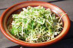Cabbage and Wakame Salad