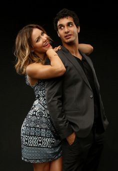 Elyes Gabel and Katharine McPhee - The Hollywood Reporter Photoshoot - Summer TCA tour 2014 Source: GettyImages
