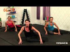 Day 3 Video Pop Physique Class, Leg and Butt Workout, Class FitSugar 10 Min Workout, Pop Workouts, Butt Workout, Workout Videos, At Home Workouts, Exercise Videos, Pop Physique, Back Exercises, Love Handles