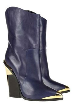 Kicking It: Shop Fall 2012's Top Trends in Boots - Westward Leaning - Versace