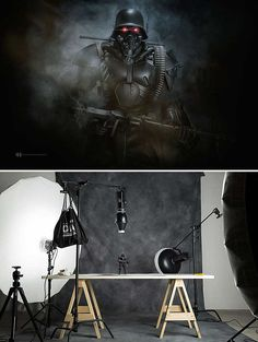 """Check this brilliant miniature photography work by Mexican photographer Felix Hernandez Rodriguez. From his words """"Photography is not portraying what Photography Lighting Setup, Portrait Lighting, Photo Lighting, Light Photography, Fine Art Photography, Lighting Setups, Studio Lighting, Flash Fotografia, Fotografia Fine Art"""