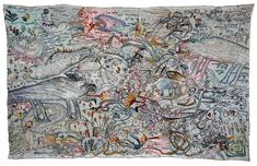 Anna Torma, Two Sided Dragon Carpet 2012