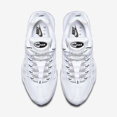 info for ee4d3 af8ff Chaussures Homme AIR MAX 95 Blanc Noir Noir Nike Air Max, Air Max
