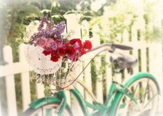 awesome flower bike wallpaper Check more at http://www.finewallpapers.eu/pin/19304/