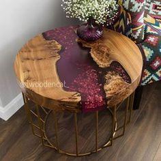 Gedanken zu diesem Beistelltisch des talentierten Ich denke, sie n… Thoughts on this side table of the talented I think she's nailing … – ص 1 – Epoxy Resin Table, Epoxy Resin Art, Diy Resin Crafts, Wood Crafts, Diy Resin Table, Wood Projects, Diy Furniture, Diy Home Decor, Decoration