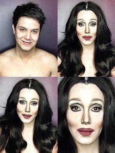 This Guy Can Look Like Kim Kardashian, Dakota Johnson, Sofia Vergara and Michelle Obama Using Nothing But Makeup Cate Blanchett, Dakota Johnson, Paolo Ballesteros, Kylie, Star Wars, Facial, Makeup Tools, Makeup Ideas, Makeup 101