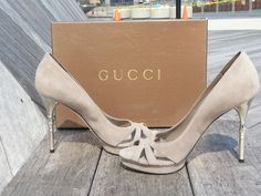 GUCCI HEELS- I will own a pair one day