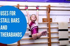 Uses for stall bars and therabands