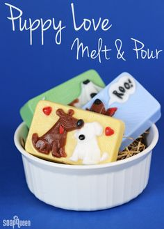 Soap QueenPuppy Love Melt and Pour | Soap Queen - Cute idea for dog lovers and kids!