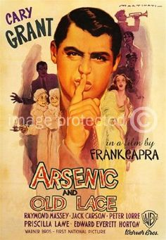 Amazon.com: Arsenic and Old Lace Cary Grant Vintage Movie Poster: Home & Kitchen