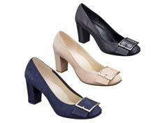 リーガルコーポレーション 靴のオンラインショップ | F43GAH【REGAL】リーガルレディース 大きめなバックルが特徴のスクエアパンプス ヒール:70mm 【 2016年春夏新商品 】: REGAL(婦)| シューズ・ストリート(靴・通販)