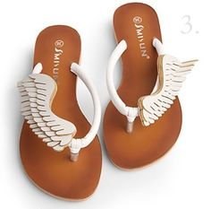 Almost bought these in korea yesterday. Fashion angel wings sandals design inspiration on Fab.