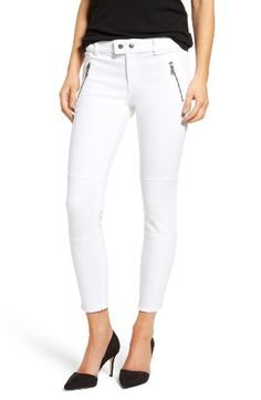 Free shipping and returns on DL1961 Florence Instasculpt Crop Skinny Jeans (Illusion) at Nordstrom.com. Gleaming zips and raw hems add rock 'n' roll edge to svelte, ankle-cropped skinny jeans crafted with plenty of comfy stretch.
