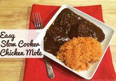 Easy Slow Cooker Recipe: Chicken Mole