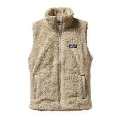 Patagonia Women's Los Gatos Fleece Vest   El Cap Khaki