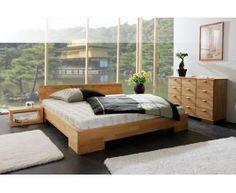 Łóżko bukowe z litego drewna łączone na mikro wczepach zabezpieczone natualnym olejem