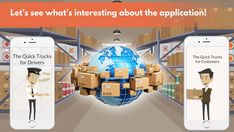 #Logistics #Mobile #Application For #Trucks