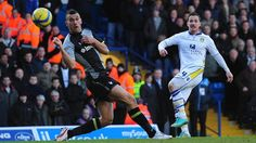 Ross McCormack smashes in Leeds' second goal