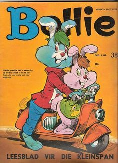 Bollie - kid's animated comic book story in Afrikaans.