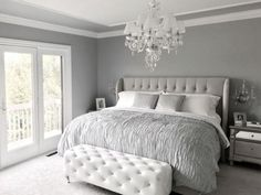 how to decorate a gray bedroom - How to Decorate A Gray Bedroom - Interior House Paint Ideas, grey bedroom decor awesome bedroom light pink room accessories Grey Bedroom Decor, Glam Bedroom, Bedroom Interiors, Bedroom Curtains, Girls Bedroom, Bedroom Sets, Trendy Bedroom, Bedroom Decor Elegant, Romantic Master Bedroom Ideas