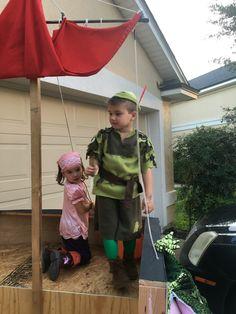 Kids Captain Hook and Peter Pan Smee Izzy Halloween costumes toddler  sc 1 st  Pinterest & Kids Captain Hook and Peter Pan Smee Izzy Halloween costumes toddler ...
