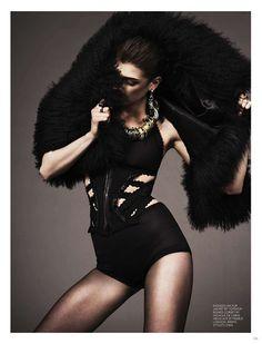 Kristine Drinke by Jonas Bresnan for Black Magazine #13 8