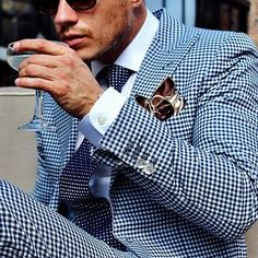 Gingham suit; yay or nay?
