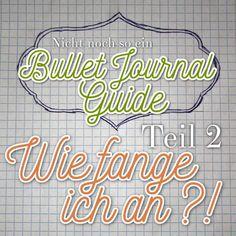 Gesternhabe ich euch alles Erdenkliche über das System des Bullet Journalings erzählt und wie angekündigt geht es heute ans Eingemachte. Wir setzen unser eigenes Bullet Journal auf. Hier mein Step…