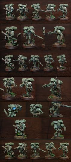 40k - Space Marines Raptors Assault Squad by Runic