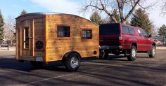 A teardrop camper built by Casual Turtle Campers located in Fort Collins, Colorado