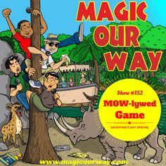 For this episode of the Magic Our Way podcast we are playing the MOWlywed game, which is our Disney-fied version of the classic Newlywed Game.