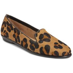 Aerosoles Shoes, Betunia Smoking Flats ($69) ❤ liked on Polyvore