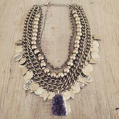 """ Pechera Taylor #new #top #accesories #laquedivas ✌️✌️ Preview Fall-Winter BOHO CHIC collection 2015 Shop NOW: www.laquedivas.com.ar…"""