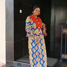 Ankara Long Gown Styles, Lace Gown Styles, Short African Dresses, Latest African Fashion Dresses, Stylish Dresses For Girls, Chiffon Dress Long, Abaya Fashion, African Attire, Bellisima