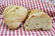 Baking And Pastry, Ciabatta, How To Make Bread, Cake Recipes, Cookies, Food, Pastries, Crack Crackers, Easy Cake Recipes