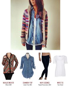 Get The Look: Fall Layered Outfit From Pinterest