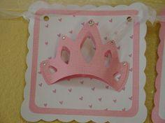 Princess Happy Birthday Banner on Etsy, $30.00